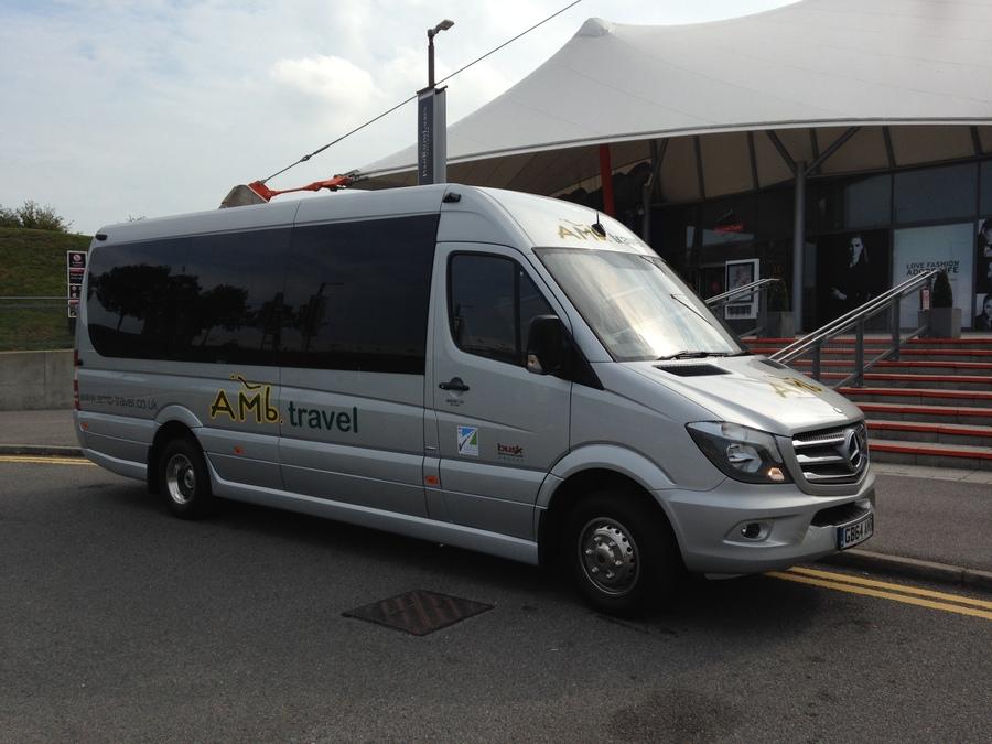 Minibus & Coach Hire in Kent | amb-travel co uk - 16 seat luxury